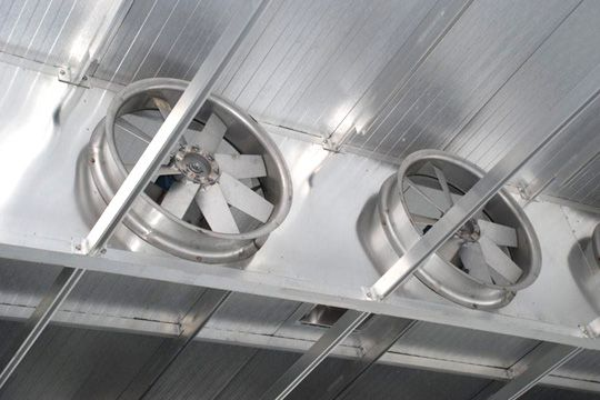Система вентиляции камер для сушки древесины Secal